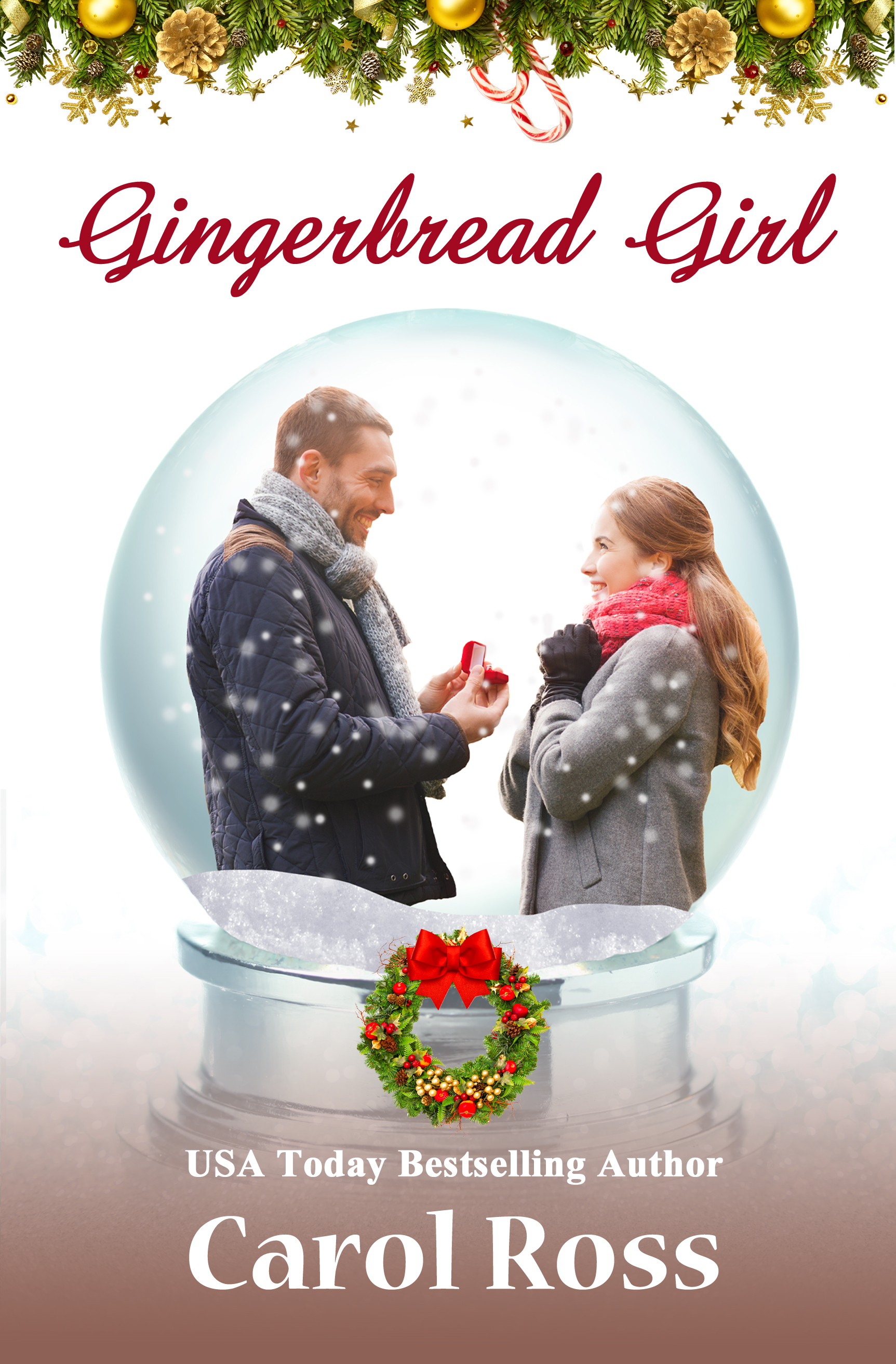 Gingerbread Girl by Carol Ross Heartwarming Holiday Wishes Christmas